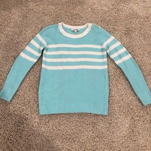 Forever 21 blue and white striped sweater